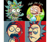 Sticker Pack Rick & Morty