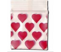"""Пакет Zip Lock (5x5) """"Heart"""""""