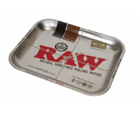 "ПОДНОС RAW METAL ROLLING TRAY - ""METALLIC"""