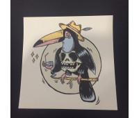 стикер 10-10см mistic print