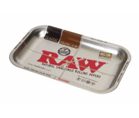 "ПОДНОС RAW METAL ROLLING TRAY - ""METALLIC"" SMALL"