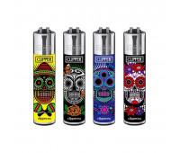 Зажигалка Clipper™ Mexican Skulls