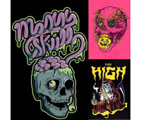 Sticker Pack High Skull