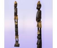 Фигурка деревянная  Ананси-Бог везения и выигрышей 1метр