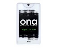НЕЙТРАЛИЗАТОР ЗАПАХА ONA SPRAY CARD 12 ML APPLE CRUMBLE